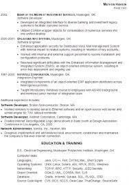 Free Download Sample Resume Senior Software Engineer Of