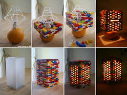 DIY Idea Lego Lamp