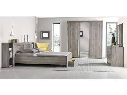 chambre chene blanchi commode 3 tiroirs coloris chêne gris vente de commode conforama