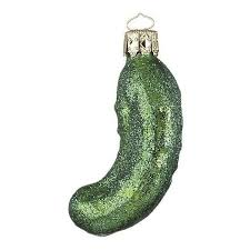 Pickle On Christmas Tree Myth by Guest Picks 20 Ornaments For Your Modern Christmas Tree Liked
