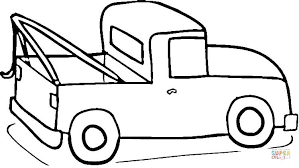 Click The Pickup Truck Coloring Pages