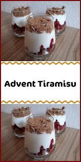 advent tiramisu einfacher nachtisch dessert rezepte