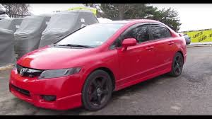 Honda Civic Si Sedan Skunk 2 Megapower on a k20z3 sounds amazing