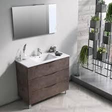 moderne badezimmer standmöbel komposition made in italy bergen