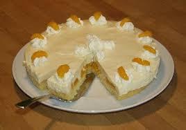 käse quark torte mit mandarinen