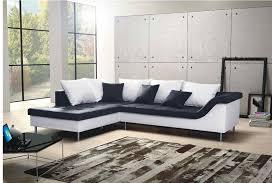canape d angle noir et blanc canapé d angle design elvis convertible noir et blanc canapés d
