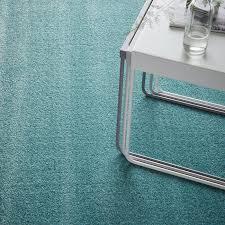 langsted teppich kurzflor türkis 133x195 cm