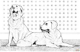 Coloring Dog Breed Pages
