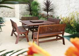 Ebay Patio Furniture Cushions by Furniture Pleasing Wood Patio Furniture With Bench Splendid