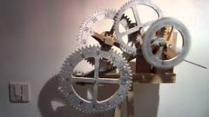 free wood gear clock plans woodworking projects u0026 plans
