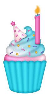 SD Birthday Diva b daycupcake2 Cupcake ClipartCupcake