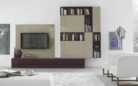 designer wohnzimmerwand mit tv wandpaneele
