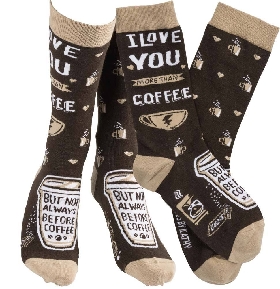 Primitives By Kathy Socks - Coffee