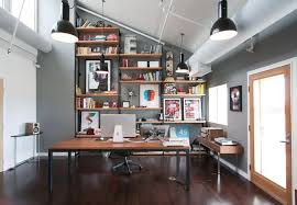 Decor Zampco Ingenious Ideas Rustic Modern Office Wonderfull Design