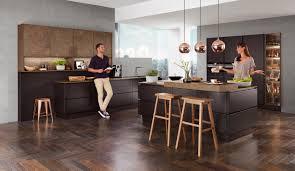 moderne einbauküche norina 3317 schwarz grifflos küchenquelle
