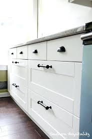 Cabinet Hardware Placement Template by Kitchen Cabinets Handles Vs Knobs Cabinet Hardware Placement