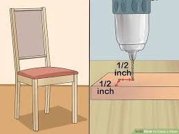 Recane A Chair Seat by How To Cane A Chair With Pictures Wikihow