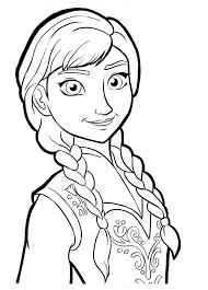 Frozen Coloring Pages Printable Pics