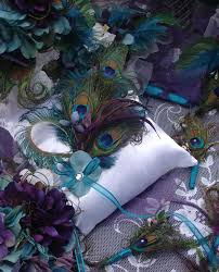 Wedding Decor Cool Peacock Decorations For A Wedding For The