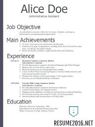 Successful Resumes 2017 Unique As 30 Lovely Resume Job Goals Examples