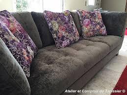 retapisser un canapé retapisser un canapé fresh canapés bergère rideaux talmont 46 hd