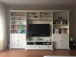 ikea liatorp wohnzimmer schrankwand in weiß