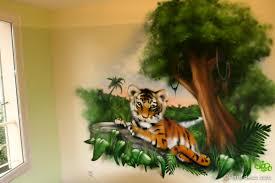 chambre de b b jungle decoration chambre bebe jungle avec chambre b b tigre deco et