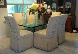 Dining Seat Slipcovers Chair Room Chairs Grey Covers For