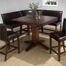 casual bistro design with kitchen nook table set on kmart dark