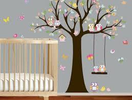 pochoir chambre bébé quels stickers trompe l oeil choisir idées en 50 photos pochoir