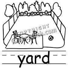 School Yard Clipart Black And White ClipartXtras