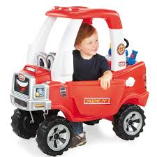 100 Fire Truck Cozy Coupe Little Tikes