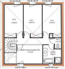 plan maison 4 chambres etage plan maison 100m2 4 chambres etage