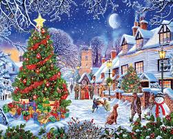 The Night Sky With Wintry Tree Branches Looks Fun To Assemble Click On Any Image In This Post See Puzzle Warehouse