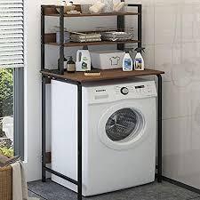 waschmaschine regal quadratischer waschmaschinenständer aus