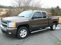 100 2007 Chevy Truck For Sale Silverado 1500 LT Z71 Extended Cab 4x4 Desert Brown Metallic