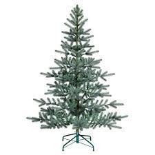 55ft Unlit Artificial Christmas Tree Blue Green Balsam Fir