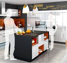 ilot central cuisine contemporaine cuisine avec ilot central everest cuisines you