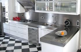 cuisine inox sur mesure plan cuisine sur mesure plan de travail en inox fabrication