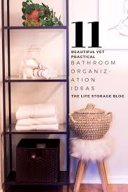 11 Beautiful (and Practical) Bathroom Organization Ideas - Life ... Small Space Bathroom Storage Ideas Diy Network Blog Made Remade 15 Stunning Builtin Shelf For A Super Organized Home Towel Appealing 29 Neat Wired Closet 50 That Increase Perception Shelves To Your 12 Design Including Shelving In Shower Organization You Need To Try Asap Architectural Digest Eaging Wall Hung Units Rustic Are Just As Charming 20 Best How Organize Tiny Doors Combo Linen Cabinet
