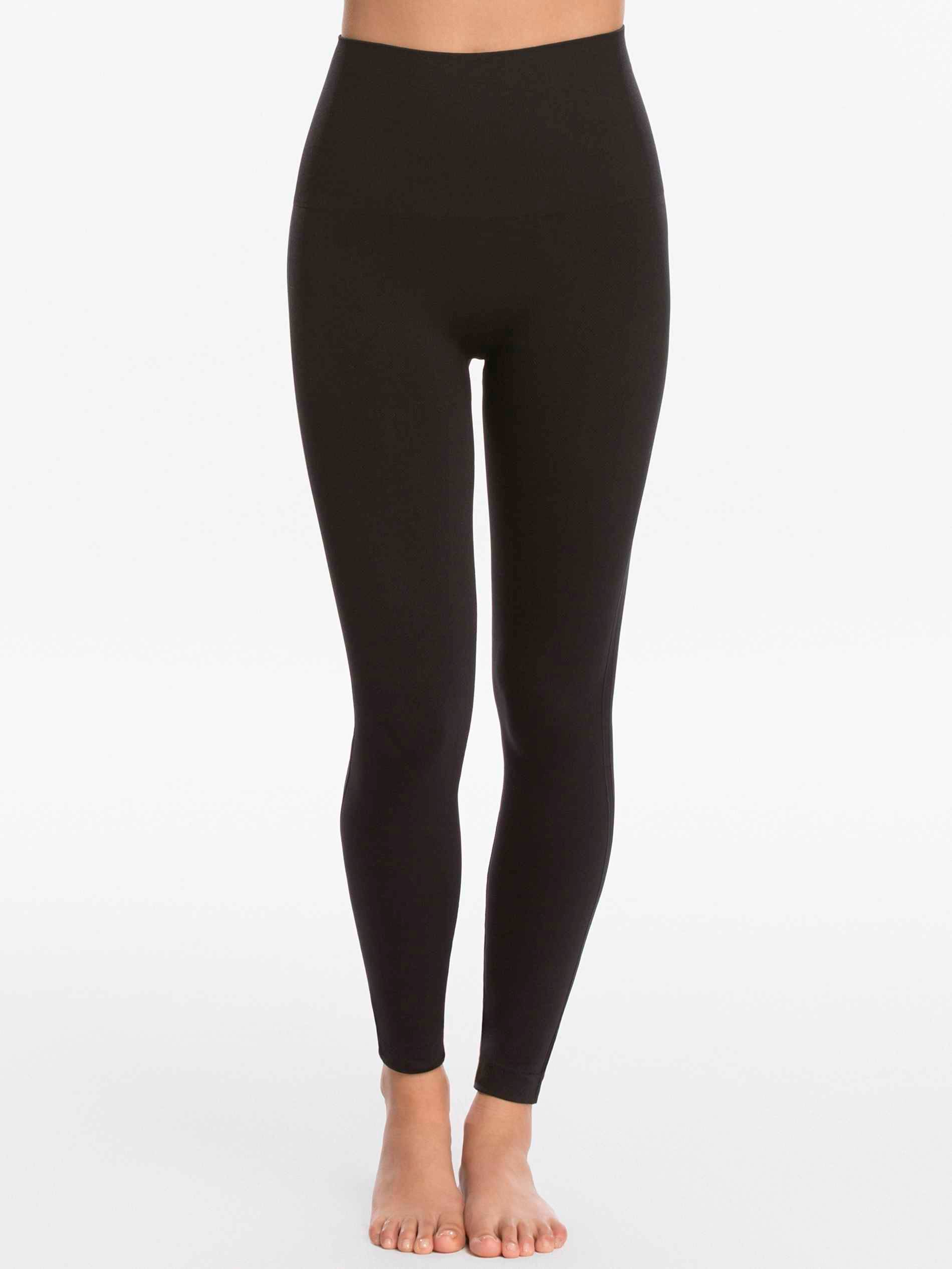 Spanx Look at Me Now Tummy Control Leggings Pants - Black, X-Large