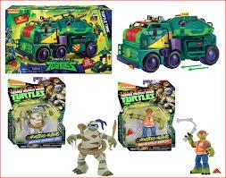 100 Teenage Mutant Ninja Turtle Monster Truck LOT 3 TMNT S TURTLE TANK MOBILE OPS Unit 2