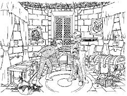 Coloring Page Harry Potter Movies 234