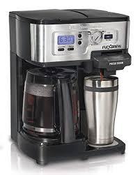 Hamilton Beach FlexBrew Single Serve Full Pot Coffee Maker 49983A