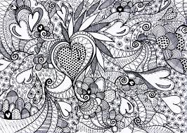 Adult Pattern Coloring Pages Page Love