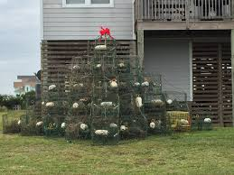 Crab Pot Christmas Trees Dealers by Twas The Night Before Christmas Hatteras Style Cape Hatteras Motel