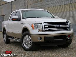 Used 2013 Ford F-150 Lariat 4X4 Truck For Sale In Perry OK - JKD54387A