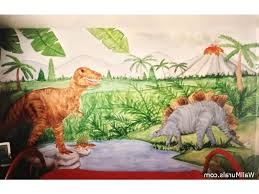 Dinosaur Wall Mural Examples