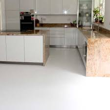 Shiny White Vinyl Flooring Textured Floor Tiles For Linoleum