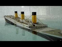 Titanic Sinking Animation 2012 by Model Titanic Sinking Version 2 Muzyka Tomka Pinterest